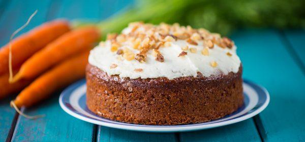 Mrkev v dortu? Proč ne!