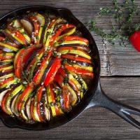 Ratatouille – míchaná zeleninová lahůdka
